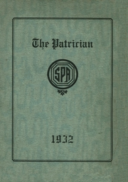 Page 1, 1932 Edition, St Patricks Academy - Patrician Yearbook (Binghamton, NY) online yearbook collection