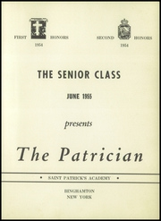 Page 5, 1955 Edition, St Patricks Academy - Patrician Yearbook (Binghamton, NY) online yearbook collection