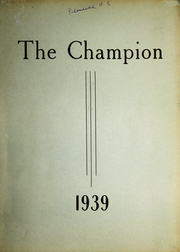 1939 Edition, Blasdell High School - Champion Yearbook (Blasdell, NY)