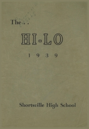 Page 1, 1939 Edition, Shortsville High School - Hi Lo Yearbook (Shortsville, NY) online yearbook collection