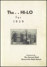 Page 5, 1939 Edition, Shortsville High School - Hi Lo Yearbook (Shortsville, NY) online yearbook collection