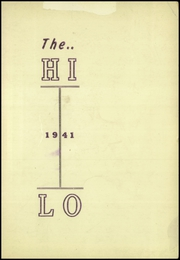 Page 3, 1941 Edition, Shortsville High School - Hi Lo Yearbook (Shortsville, NY) online yearbook collection