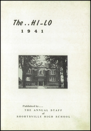 Page 5, 1941 Edition, Shortsville High School - Hi Lo Yearbook (Shortsville, NY) online yearbook collection