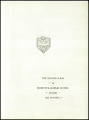 Page 5, 1946 Edition, Shortsville High School - Hi Lo Yearbook (Shortsville, NY) online yearbook collection