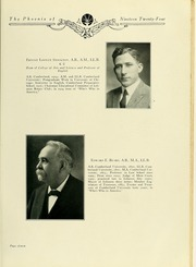 Page 15, 1924 Edition, Cumberland University - Phoenix Yearbook (Lebanon, TN) online yearbook collection