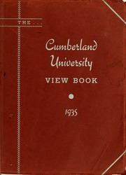 1935 Edition, Cumberland University - Phoenix Yearbook (Lebanon, TN)