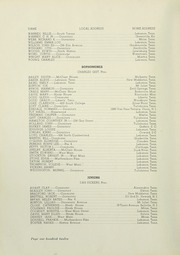 Page 116, 1937 Edition, Cumberland University - Phoenix Yearbook (Lebanon, TN) online yearbook collection