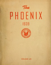 Page 1, 1939 Edition, Cumberland University - Phoenix Yearbook (Lebanon, TN) online yearbook collection
