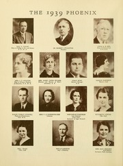 Page 14, 1939 Edition, Cumberland University - Phoenix Yearbook (Lebanon, TN) online yearbook collection