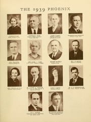 Page 15, 1939 Edition, Cumberland University - Phoenix Yearbook (Lebanon, TN) online yearbook collection