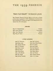 Page 16, 1939 Edition, Cumberland University - Phoenix Yearbook (Lebanon, TN) online yearbook collection