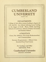 Page 4, 1939 Edition, Cumberland University - Phoenix Yearbook (Lebanon, TN) online yearbook collection