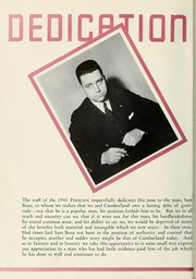 Page 10, 1941 Edition, Cumberland University - Phoenix Yearbook (Lebanon, TN) online yearbook collection