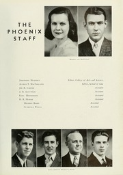 Page 15, 1941 Edition, Cumberland University - Phoenix Yearbook (Lebanon, TN) online yearbook collection