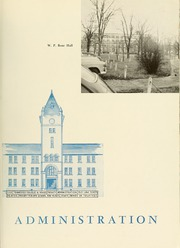 Page 9, 1951 Edition, Cumberland University - Phoenix Yearbook (Lebanon, TN) online yearbook collection