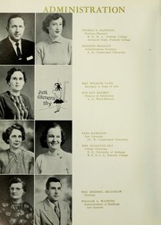 Page 10, 1959 Edition, Cumberland University - Phoenix Yearbook (Lebanon, TN) online yearbook collection