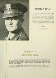 Page 7, 1959 Edition, Cumberland University - Phoenix Yearbook (Lebanon, TN) online yearbook collection