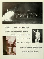 Page 12, 1966 Edition, Cumberland University - Phoenix Yearbook (Lebanon, TN) online yearbook collection