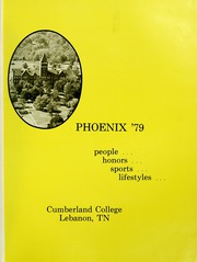 Page 5, 1979 Edition, Cumberland University - Phoenix Yearbook (Lebanon, TN) online yearbook collection