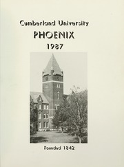 Page 5, 1987 Edition, Cumberland University - Phoenix Yearbook (Lebanon, TN) online yearbook collection