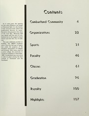 Page 7, 1987 Edition, Cumberland University - Phoenix Yearbook (Lebanon, TN) online yearbook collection