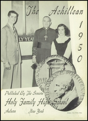 Page 5, 1950 Edition, Holy Family High School - Achillean Yearbook (Auburn, NY) online yearbook collection