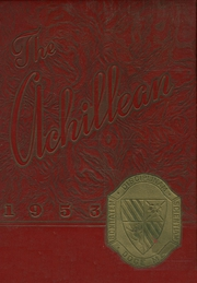 1953 Edition, Holy Family High School - Achillean Yearbook (Auburn, NY)