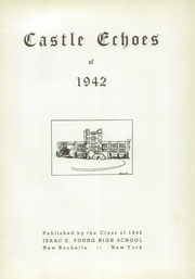 Page 5, 1942 Edition, Young High School - Castle Echoes Yearbook (New Rochelle, NY) online yearbook collection