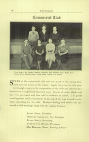 Page 16, 1933 Edition, Castleton High School - Parrot Yearbook (Castleton, NY) online yearbook collection