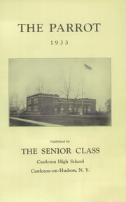 Page 5, 1933 Edition, Castleton High School - Parrot Yearbook (Castleton, NY) online yearbook collection
