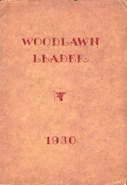 1930 Edition, Woodlawn High School - Woodlawnian Yearbook (Woodlawn, NY)