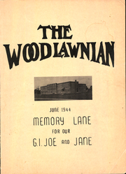 1944 Edition, Woodlawn High School - Woodlawnian Yearbook (Woodlawn, NY)