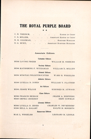 Page 9, 1906 Edition, Cornell College - Royal Purple Yearbook (Mount Vernon, IA) online yearbook collection