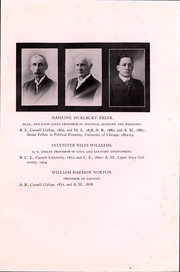Page 13, 1911 Edition, Cornell College - Royal Purple Yearbook (Mount Vernon, IA) online yearbook collection