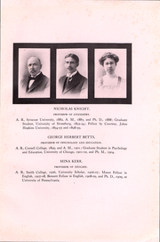 Page 15, 1911 Edition, Cornell College - Royal Purple Yearbook (Mount Vernon, IA) online yearbook collection