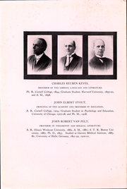 Page 16, 1911 Edition, Cornell College - Royal Purple Yearbook (Mount Vernon, IA) online yearbook collection