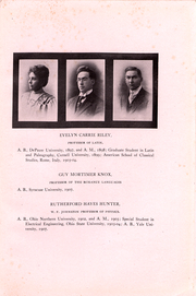 Page 17, 1911 Edition, Cornell College - Royal Purple Yearbook (Mount Vernon, IA) online yearbook collection