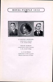 Page 10, 1912 Edition, Cornell College - Royal Purple Yearbook (Mount Vernon, IA) online yearbook collection