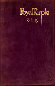 Page 1, 1916 Edition, Cornell College - Royal Purple Yearbook (Mount Vernon, IA) online yearbook collection