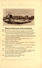 Page 11, 1916 Edition, Cornell College - Royal Purple Yearbook (Mount Vernon, IA) online yearbook collection