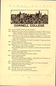 Page 12, 1916 Edition, Cornell College - Royal Purple Yearbook (Mount Vernon, IA) online yearbook collection