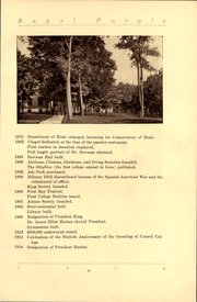 Page 13, 1916 Edition, Cornell College - Royal Purple Yearbook (Mount Vernon, IA) online yearbook collection