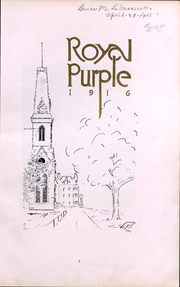 Page 4, 1916 Edition, Cornell College - Royal Purple Yearbook (Mount Vernon, IA) online yearbook collection