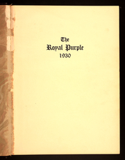 Page 5, 1930 Edition, Cornell College - Royal Purple Yearbook (Mount Vernon, IA) online yearbook collection