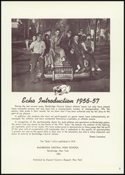 Page 7, 1957 Edition, Bainbridge Central High School - Echo Yearbook (Bainbridge, NY) online yearbook collection