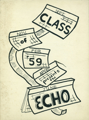 Bainbridge Central High School - Echo Yearbook (Bainbridge, NY) online yearbook collection, 1959 Edition, Page 1