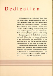 Page 11, 1945 Edition, Henderson State University - Star Yearbook (Arkadelphia, AR) online yearbook collection
