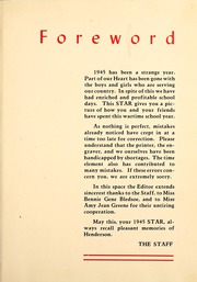 Page 5, 1945 Edition, Henderson State University - Star Yearbook (Arkadelphia, AR) online yearbook collection
