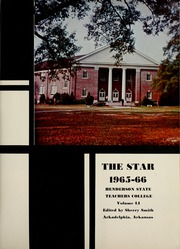 Page 5, 1966 Edition, Henderson State University - Star Yearbook (Arkadelphia, AR) online yearbook collection
