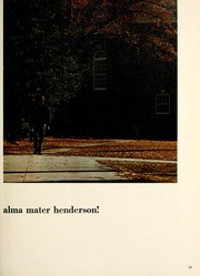 Page 17, 1970 Edition, Henderson State University - Star Yearbook (Arkadelphia, AR) online yearbook collection